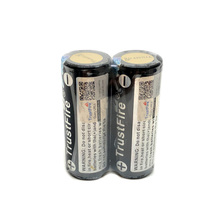 2PCS/LOT TrustFire 26650 4000mah 3.7V Rechargeable Protected Li-on Battery Colorful lithium Batteries