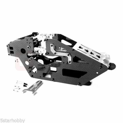 Gartt 450L Helicopter Carbon Fiber Main Frame Set for Trex 450L Kit