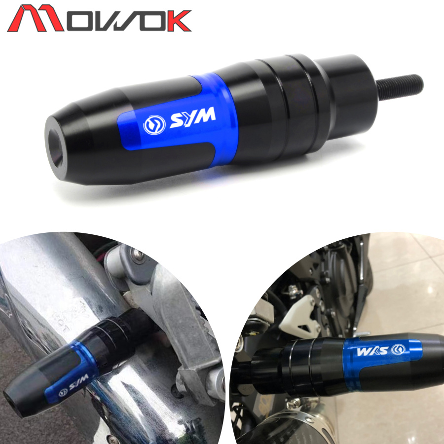 2019 New Motorcycle CNC For <font><b>SYM</b></font> CRUISYM 300 GTS <font><b>300i</b></font> GTS300i T2 T3 RV250 Crash Exhaust Slider Protector Crash Pads image