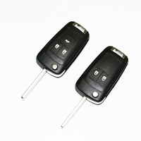 50PCS 2/3 Button Replacement Flip Folding Remote Car Key Shell For Opel Vauxhall Astra H Insignia J Vectra C Corsa D