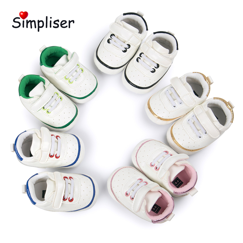 0-18M Baby Girls Boys Sneakers Newborn Baby First Walkers Toddler Boys Shoes Outdoor Shoes Anti-slip Walking Shoes Footwear