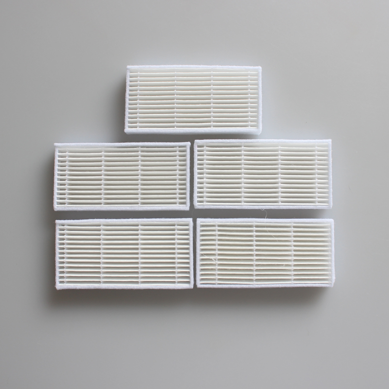 5 Pieces/lot Robot Vacuum Cleaner Parts HEPA Filter For Proscenic Series SUZUKA Series 780T/KAKA