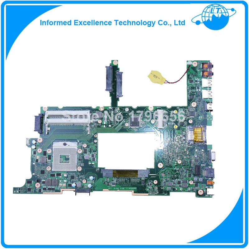 Laptop Motherboard System Board for asus N75SF N75SL N75S series mainboard free shipping laptop motherboard for asus g60vx series mainboard system board