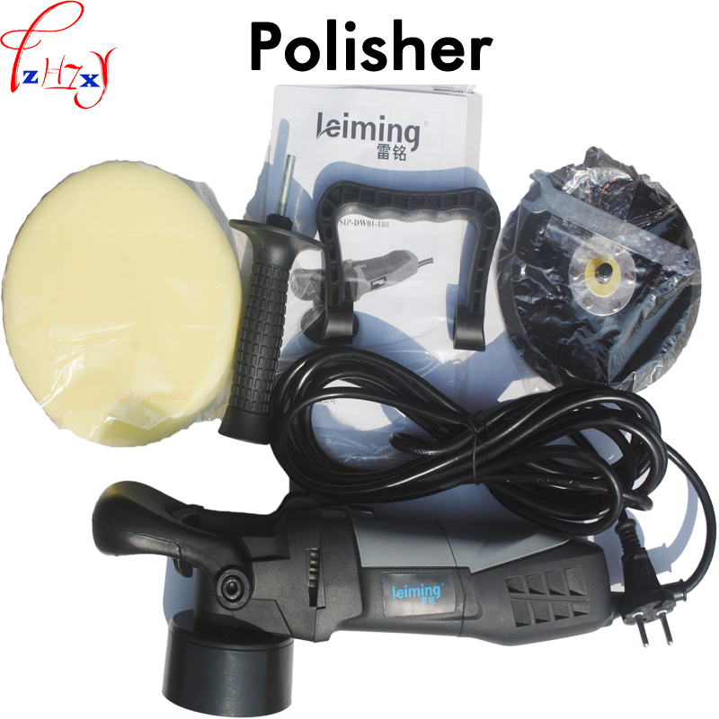 Tools Responsible S1p-dw01-180 Double Track Multi-function Polishing Machine Car Beauty Equipment Car Polisher Cleaner Machine 110/220v 1pc Without Return