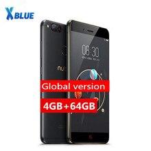 """Smartphone nubia z17 mini versão global original, celular com tela de 5.2 """", 4gb + 64gb, snapdragon msm8976, núcleo octa core, câmera traseira dupla impressão digital 1920*1080"""