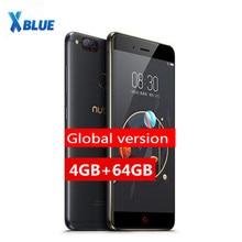 """Version mondiale originale Nubia Z17 Mini téléphones 5.2 """"4 GB 64GB Snapdragon MSM8976 Octa Core double caméra arrière avec empreinte digitale 1920*1080"""