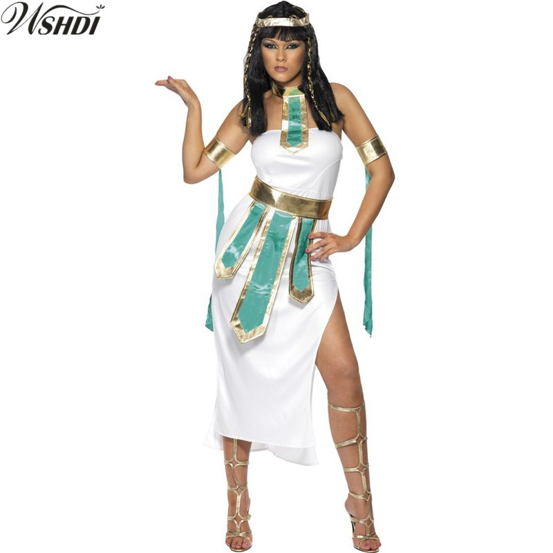queen of the nile adult egyptian cleopatra costume adult women halloween cosplay greek goddess fancy dress - Helen Of Troy Halloween Costume