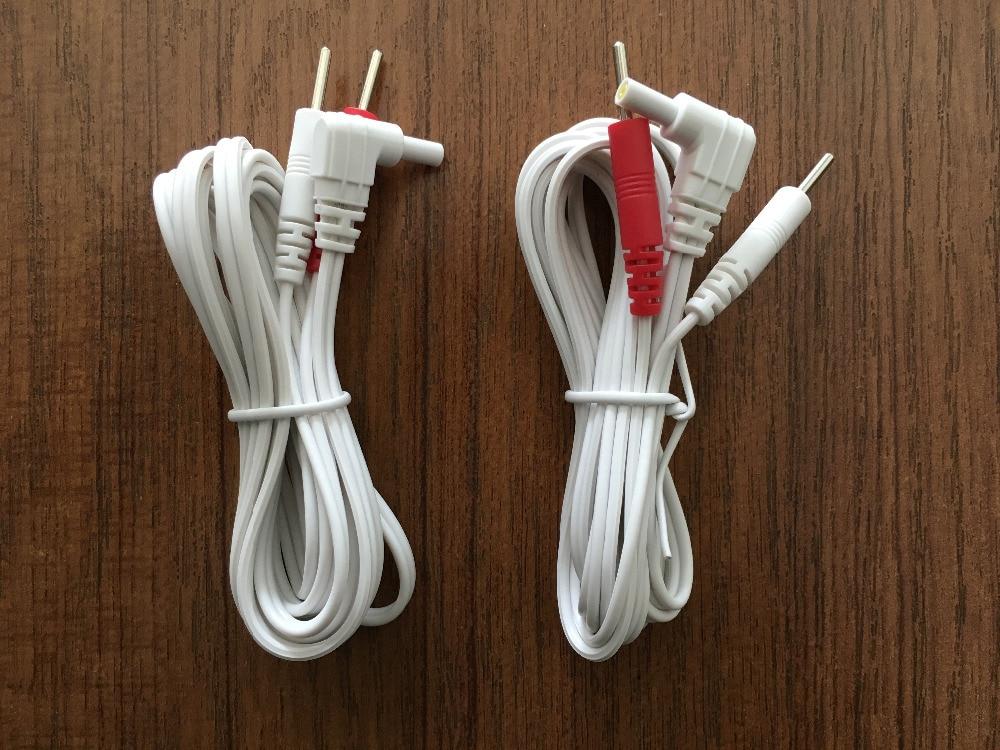 2 Piece DC 2.35mm 2-pin elektrod Membawa wayar / kabel dengan 3 pak - Penjagaan kesihatan - Foto 5
