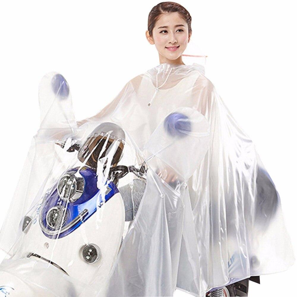 Moto impermeabile Pioggia Giacca Donne Electrombile Impermeabile Antipioggia Esterno Impermeabile Poncho Impermeabile Con Cappuccio