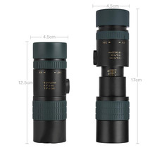 Monocular 8x42 Hunting BAK4 Telescope Camping Professional Binoculars for Bird Watching Telescopic Spyglass Catalejo