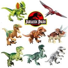 Парк юрського періоду Динозавр Світ Птерозаври Тираннозавр Дитячий мультфільм Зберіть іграшки Моделі Будівельні блоки Подарунок для дітей