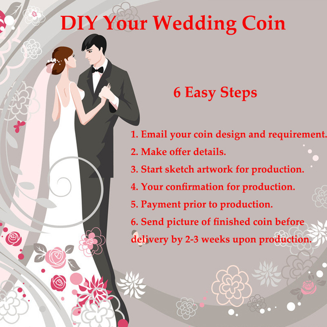 Custom Wedding Gift Coin From Lebanon How To Make Coins For Company Anniversary Party