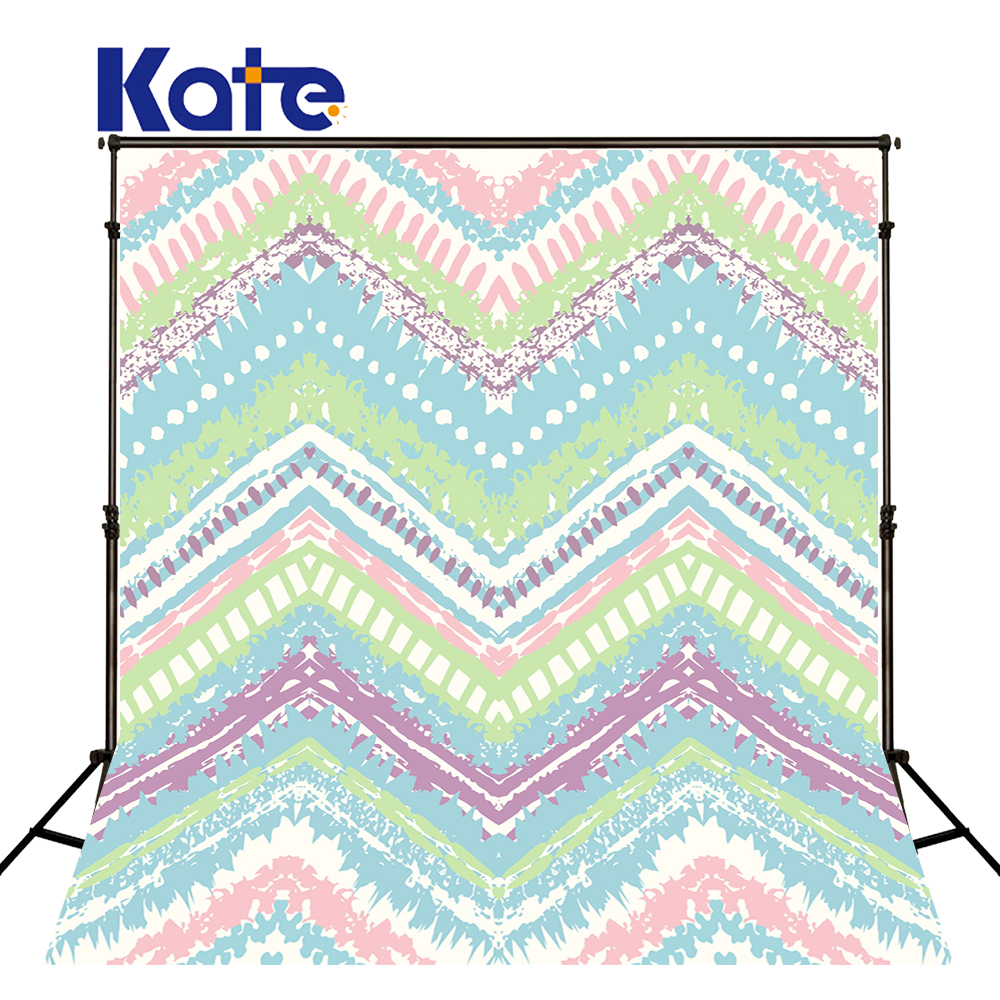 Kate Photography Backgrounds Papel De Parede Hand-Painted Colorful Stripes Kate Background Backdrop our kate