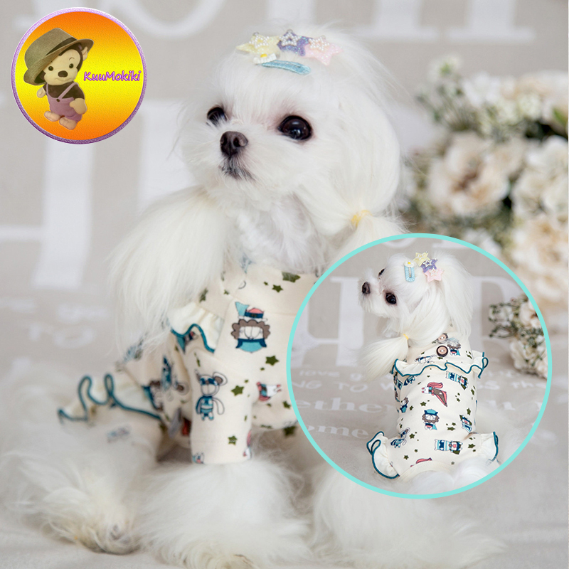 New Arrivals dog Pajams dogs nighty pet nightgown cat nightclothes cats clothing for sleeping puppy wearing suit for sleep