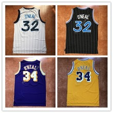 f10a499df New Mens  32 Shaquille O Neal Throwback Basketball Jersey US Size S-XXL