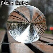 Абсолютно новые детские игрушечные мячи прозрачное стекло, хрусталь мяч лечебная Сфера реквизит для фотосъемки фото 30-70 мм детская игра игрушки на открытом воздухе