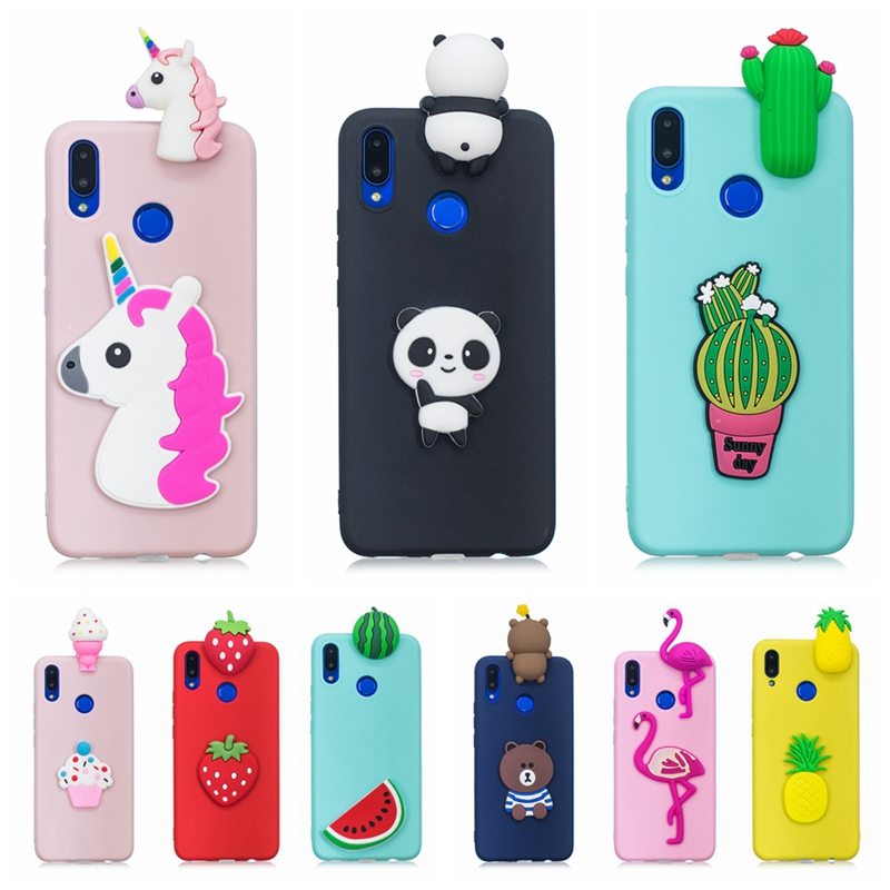 nuovo concetto 66210 cbbec US $3.13 31% OFF|Huawei P Smart Plus Case Cover Nova 3i 3D Toy Panda Cactus  Silicone Phone Case on for Funda Huawei P Smart + Plus Nova 3i Case-in ...
