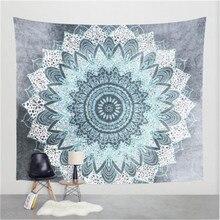 Lotus Mandala Tapestry Wall Hanging Hippie Bohemia Witchcraft Tapestry Art Mattress Beach Yoga Mat Throw Rug Wall Decor Tapestry