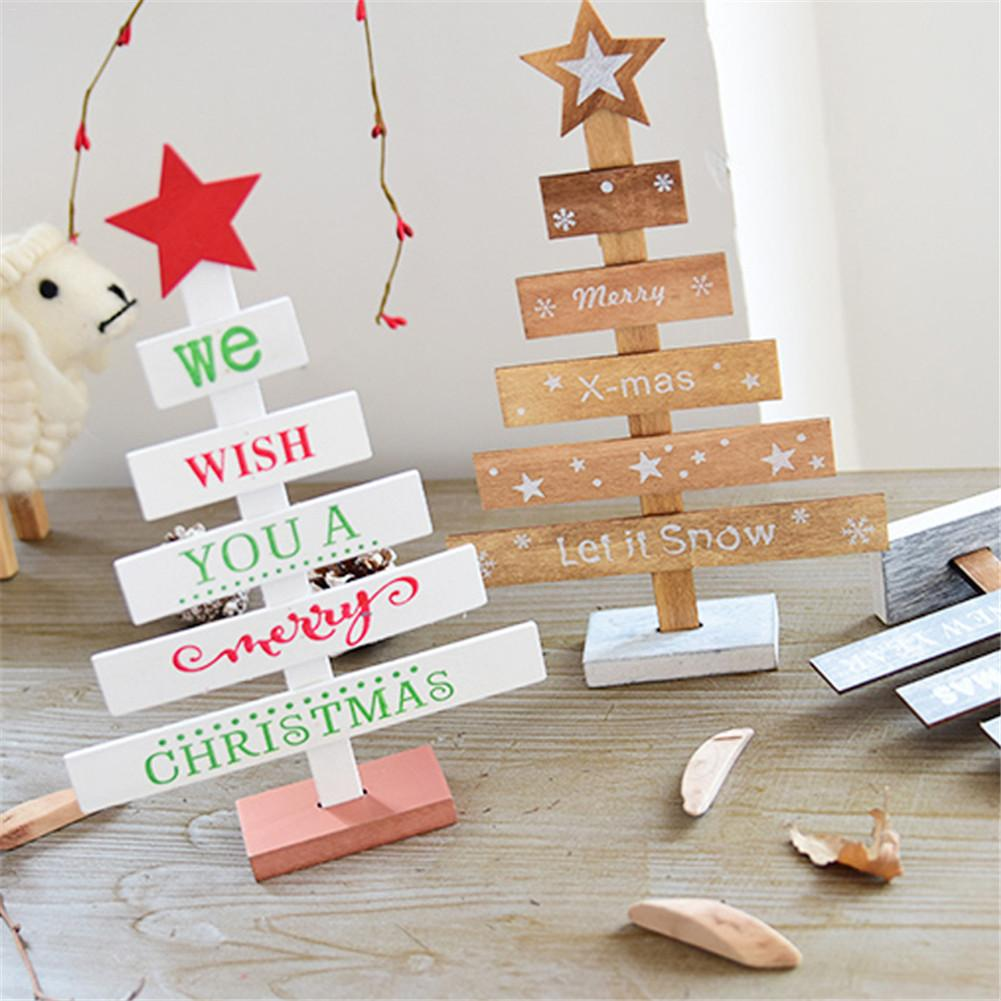 Us 3 67 25 Off Nordic Ig Style Christmas Wooden Slices Wood Crafts Diy Accessories Small Pendant For Christmas Desktop Ornaments In Pendant Drop