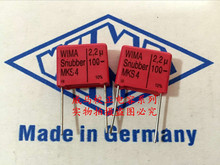 2019 hot sale 10pcs/20pcs Germany WIMA Snubber MKS4 100V 2.2UF 225 2U2 P: 15mm Audio capacitor free shipping
