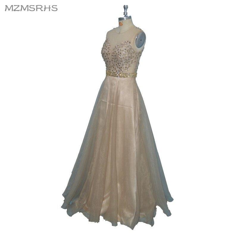 """Elegantiškos """"Champange"""" aplikacijos """"Vintage"""" formali - Ypatinga proga suknelės - Nuotrauka 4"""