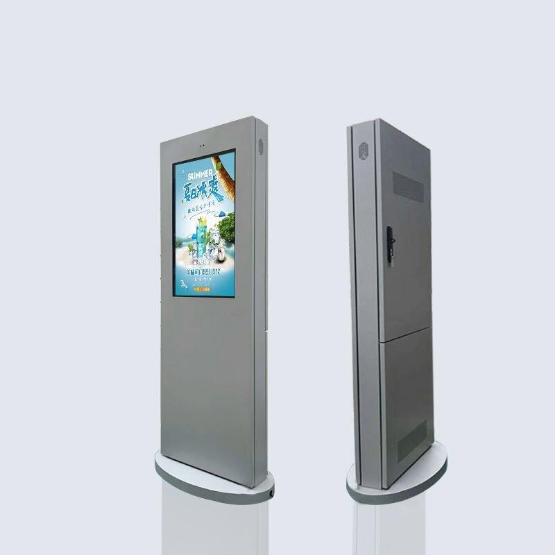 Affichage numérique de joueur d'écran d'affichage à cristaux liquides de publicité extérieure de totem de 65 pouces - 5