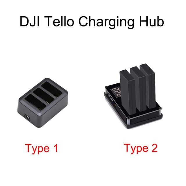 Tello Batterij Quick Opladen Hub 3in1 Multi Intelligente Vlucht Batterij Charger Hub Voor DJI Tello Drone Batterijen