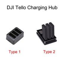 Tello แบตเตอรี่ชาร์จ Hub 3in1 Multi เที่ยวบินอัจฉริยะแบตเตอรี่แท่นชาร์จสำหรับ DJI Tello Drone แบตเตอรี่