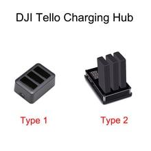 Tello bateria szybkie ładowanie Hub 3w1 Multi inteligentna bateria lotnicza rozdzielacz ładowarki do akumulatorów DJI dron Tello
