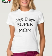 """365 days super mom"" Mother's Day gift T Shirt"