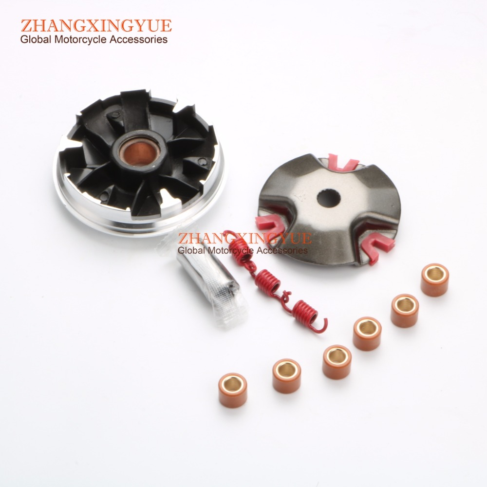 1K 1.5K 2K Clutch Springs & Performance 20mm Variator Set w/ 7g for MBK Evolis Forte Fizz Booster Spirit Booster Rocket 50 2T