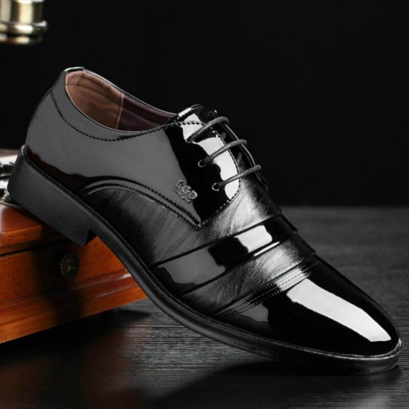 3186b658734d4b Cuir Italien Mariage En Luxe Mens Chaussures Noir N Mode Designer Hommes 72  Robe Véritable ° Formelle ...