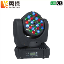 Free shipping 7x12W/36pcs 3W LED Beam Moving Head Light CREE RGBW 4in1 7X12W  RGBW LED Beam Moving Head lyre beam 7x12w rgbw 4in1 led beam dmx stage moving head lights for dj