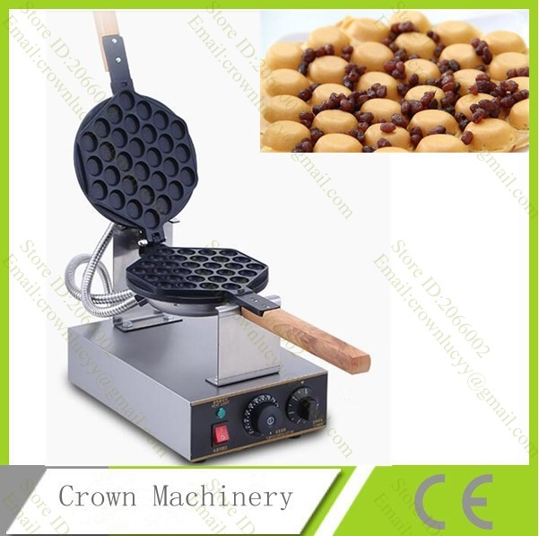 110V 220V Hongkong electric egg waffle maker / egg waffle maker machine-in Waffle Makers from Home Appliances    1