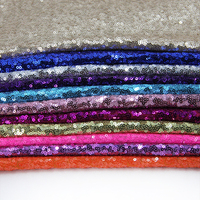 14478 50 147CM Sequin Fabric For Tissue Kids Bedding Textile For Sewing Tilda Doll DIY Handmade