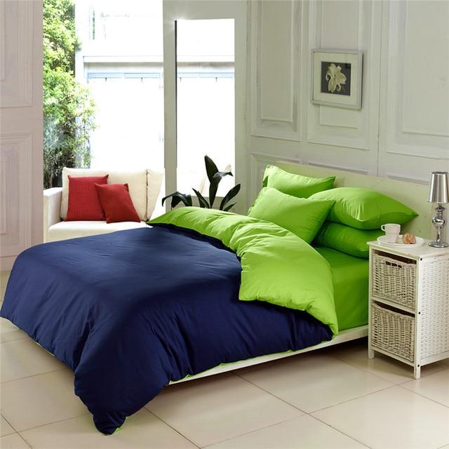 100 Egyptian Cotton Ab Style Bluegreen Solid Elegant Satin