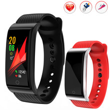 2018 new smart watch APP GPS tracking swimming blood pressure heart rate monitor fitness watches waterproof steel sportwatch F4(China)