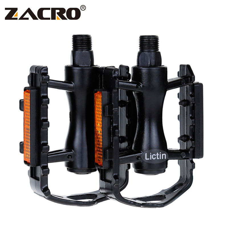 Zacro Fixed Gear Mountain BMX Bicycle Pedals 9/16