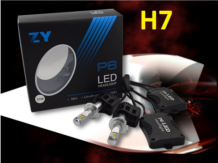 Led H7 55W 5200LM H1 H3 H11 9005 9005 HB3 HB4 H4 LED Car Headlight Kit 6000K 9004 9007 Headlamp Light