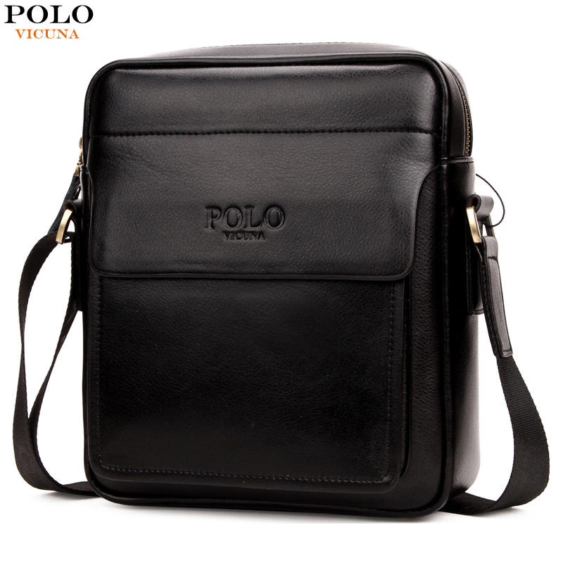 VICUNA POLO New Arrival Brand Business Men's Shoulder Bag Square Design Casual Men Bag Promotion Leisure Messenger Bag Top Sell vicuna polo new arrival brand business men s shoulder bag square design casual men bag promotion leisure messenger bag top sell