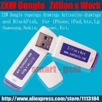 100 Original Zillion X Work ZXW Dongle With Software Repairing Drawings For Iphone Nokia Samsung HTC
