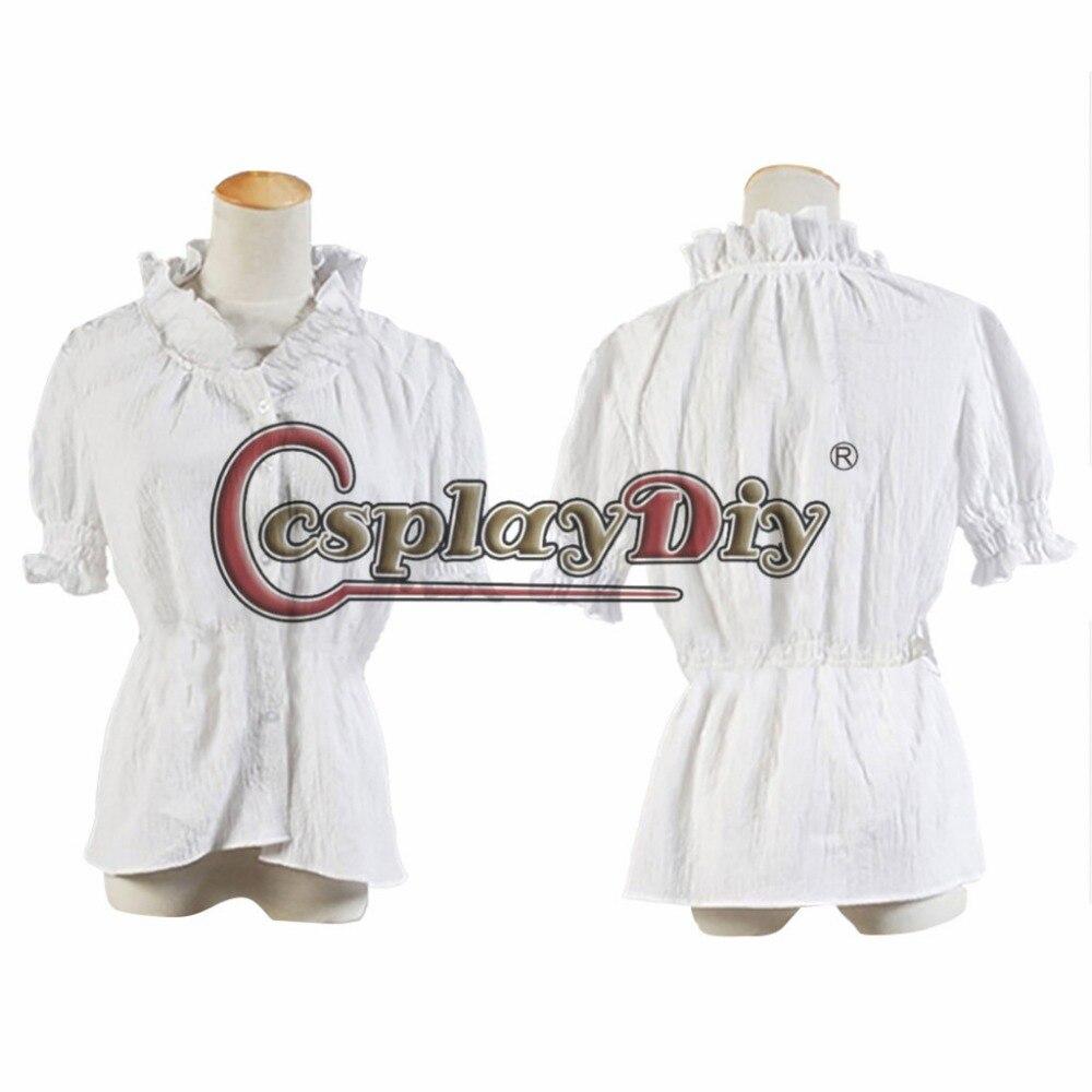 Cosplaydiy  Custom Made Twilight Breaking Dawn Bella Costume for Adult Women Halloween Carnival Cosplay Costume J5