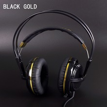 Black Gold Color Headset Steelseries Siberia V2 Brand Noise Isolating Game Headphones For Headphone Gamer Fast Shipping