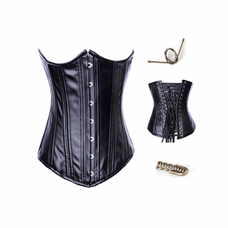 Top Quality Leather Underbust Corset