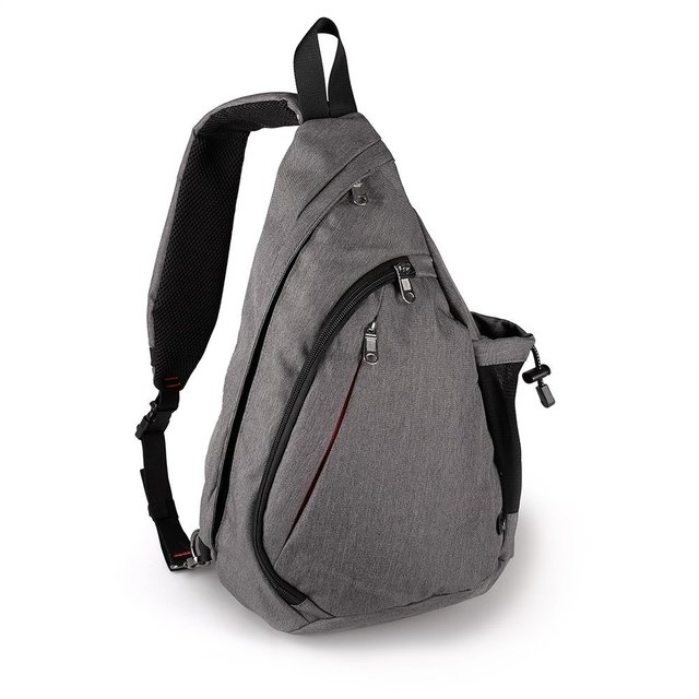 Large Capacity Chest Bag For Men Nylon Sling Bag Casual Crossbody Bags For  Short Trip e19f3f8db70bf