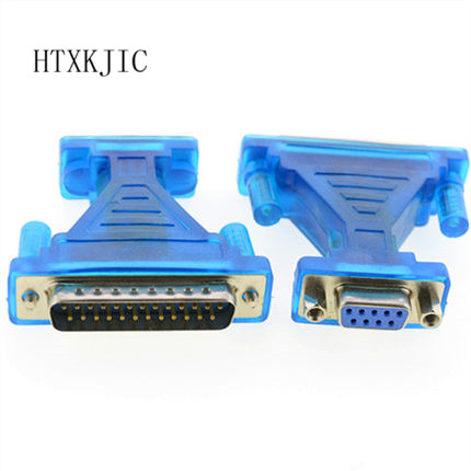 USB To Com USB To Serial RS232 Cable DB9 To DB25 Adapter DB9 Female DB25 Male