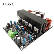 Lusya Class D HiFi IRS2092 Power audio amplifier 600W*2 4ohm Stereo channel amplifier Assembled board +   60V B7 007
