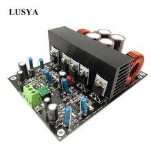 Lusya Sınıf D HiFi IRS2092 elektrikli ses yükseltici 600W * 2 4ohm Stereo kanal amplifikatör Monte kurulu + 60 V b7 007