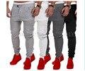 Nuevo Diseñador Para Hombre Harem Joggers Herostand Puño Elástico Tiro Caído Joggers Pantalones Cordón Biker Hombres marrón 4505