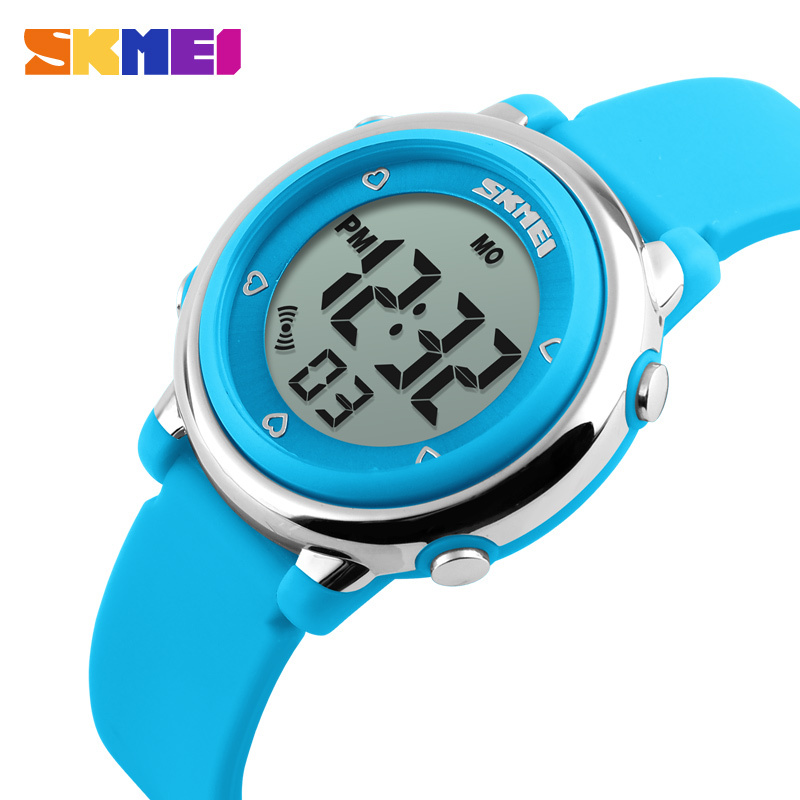 Children's Watches Cooperative Skmei New Kids Watch Fashion Waterproof Plastic Case Alarm Wristwatch Boys Girls Digital Children Watches Reloj Clients First